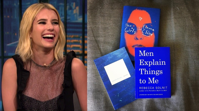 Emma Roberts and The Girls book cover