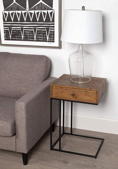 Kate and Laurel Ulrich Wood Side Table
