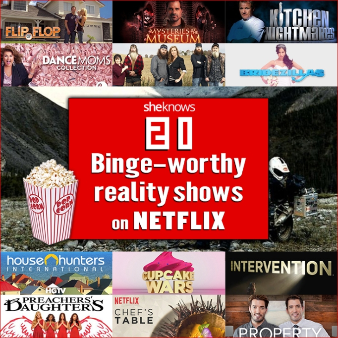reality tv shows on netflix