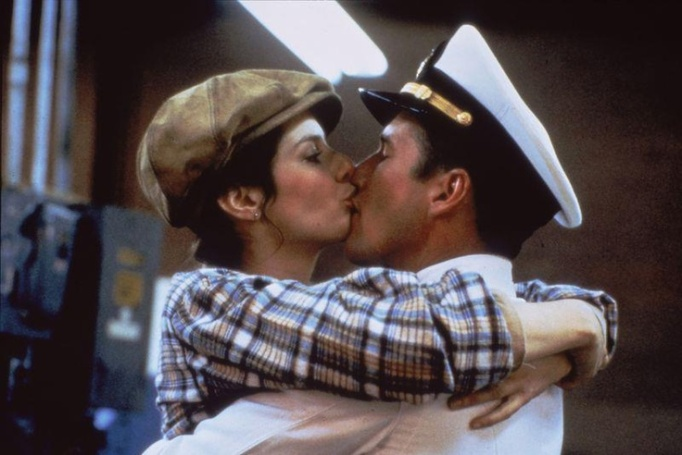 movie kisses An Officer and a Gentleman