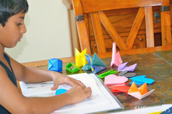 Origami - Homeschool class