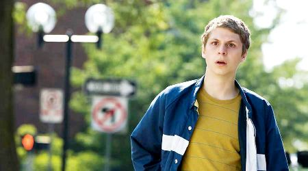 Michael Cera and his trademark look in Youth in Revolt, out now