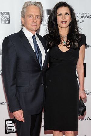 Michael Douglas hints at reunion with Catherine Zeta-Jones
