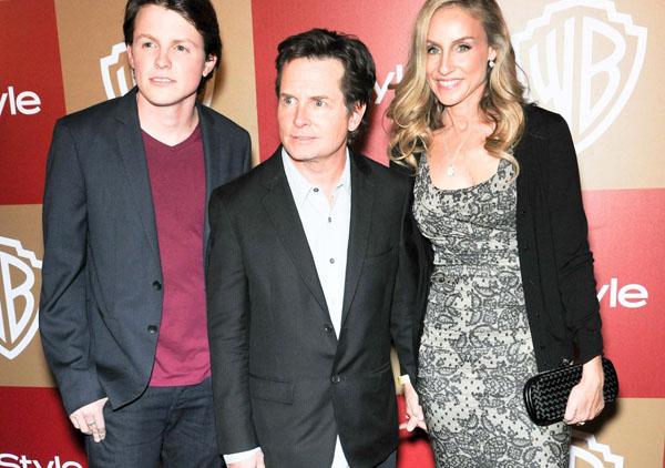 Sam, Michael J. Fox, Tracy Pollan