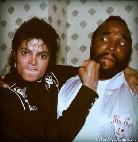 Michael Jackson Mr T