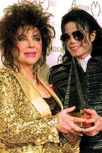 Liz Taylor and Michael Jackson