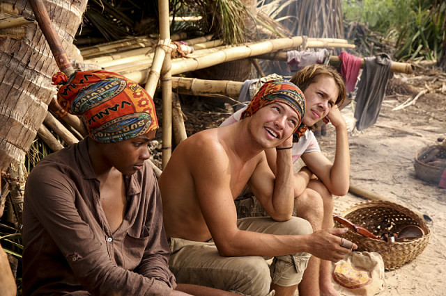 Michaela Bradshaw, Jay Starrett and Will Wahl on Survivor: Millennials Vs. Gen-X