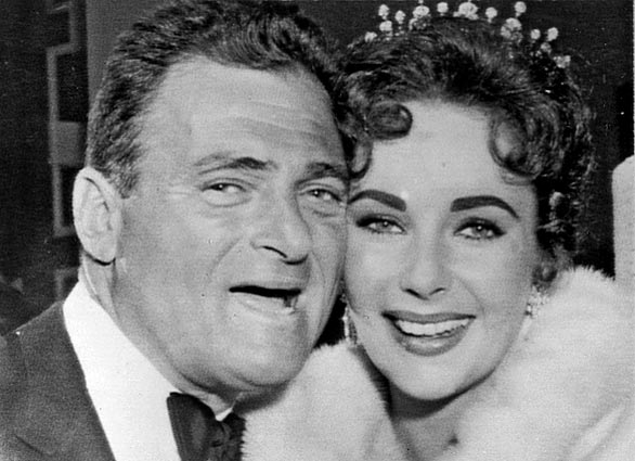 Elizabeth Taylor and husband Mike Todd