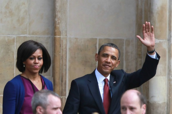 President Obama and Michelle Obama celebrate 20 years together