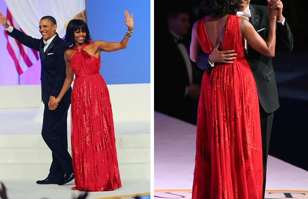 Michelle Obamas Inaugural Ball Dress Designer Is Sheknows