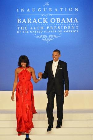 Michelle Obama Barack Obama inauguration