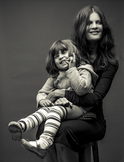 Michelle Stafford and her daughter
