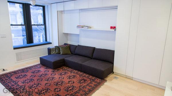 The tiny transforming apartment