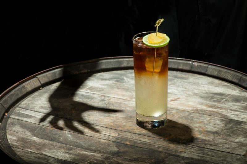Midnights' Shadow Halloween cocktail