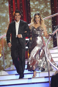 Mike Catherwood on Dancing with the stars