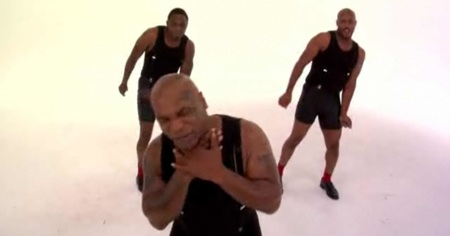 Mike Tyson sings Bobby Brown
