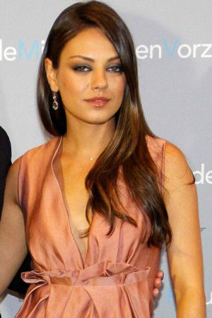 Mila Kunis in Germany
