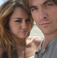 Miley Cyrus and Kevin Zegers