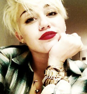 """Miley Cyrus tweeted this recently saying """"self love is the greatest of all flatterers"""""""