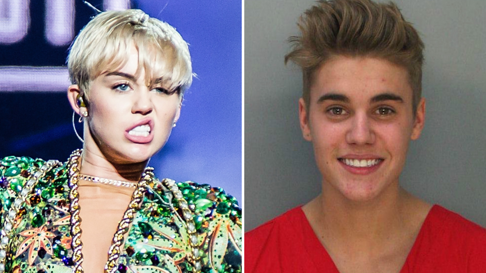 Miley Cyrus vs. Justin Bieber: Who's had the most controversial year so far?