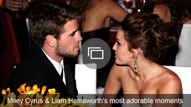 Miley Cyrus Liam Hemsworth slideshow