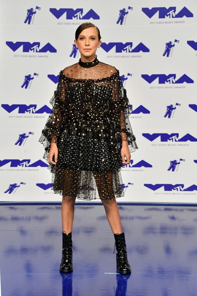 Best Dressed at the 2017 VMAs: Millie Bobby Brown