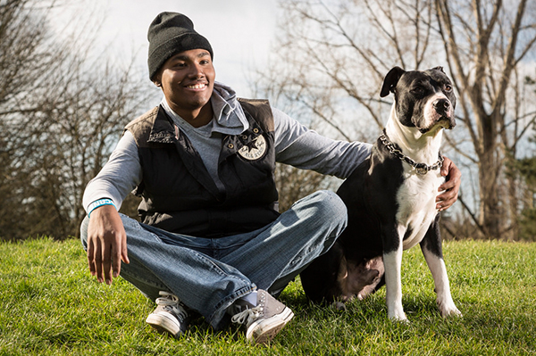 Milton Wright and his dog | Sheknows.com