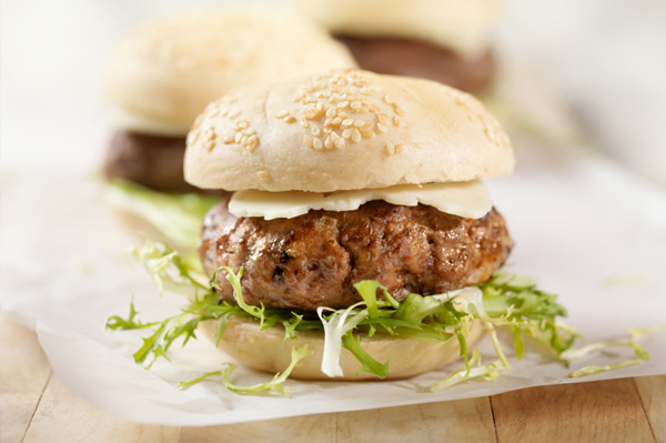Slider hamburger