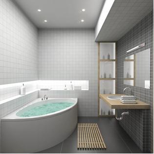Beautiful Minimalist Bathroom Design