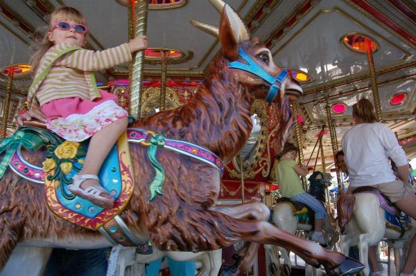 Minnesota state fair carousel