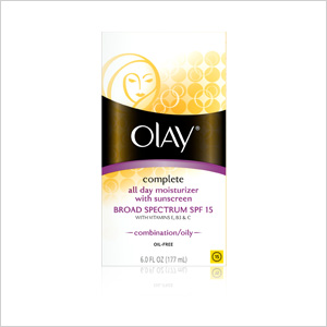 Olay Complete All Day Moisturizer with Sunscreen Combination/Oily Skin