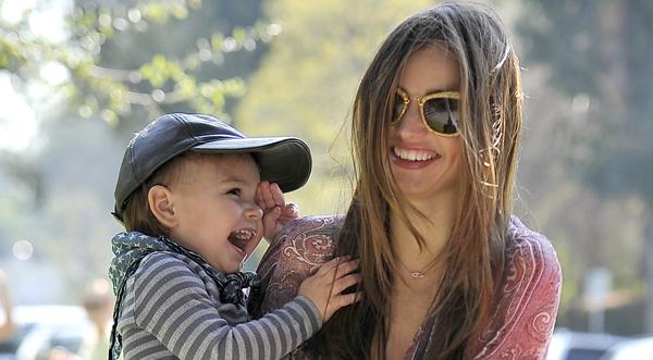 Mirranda Kerr and son Flynn