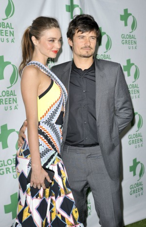 Miranda Kerr supports Orlando Bloom's Broadway career