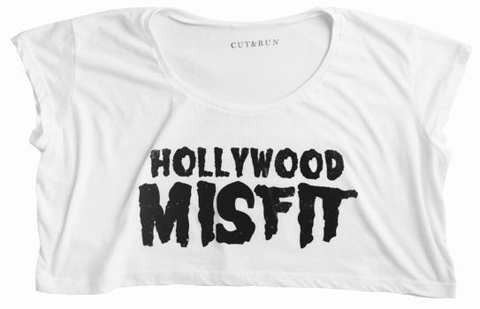 Hollywood Misfit Crop($25)