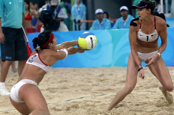 Misty May-Treanor weighs in on Olympic win