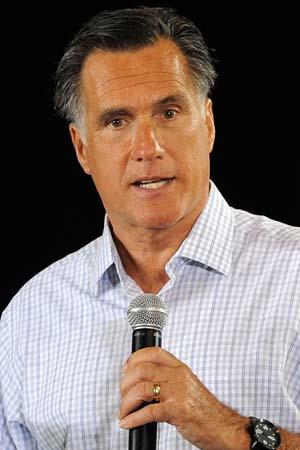 Mitt Romney gets $500 fake tans