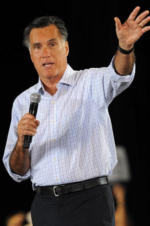 Mitt Romney has binders full of women