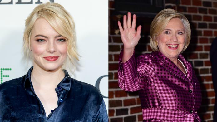 Emma Stone & Hillary Clinton Are