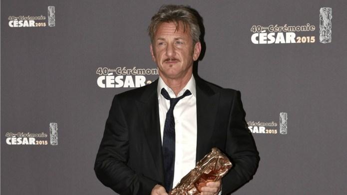 Sean Penn likes watching the women