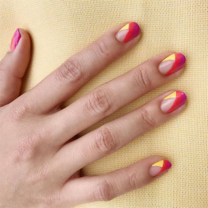 Rainbow Bright Nail Art