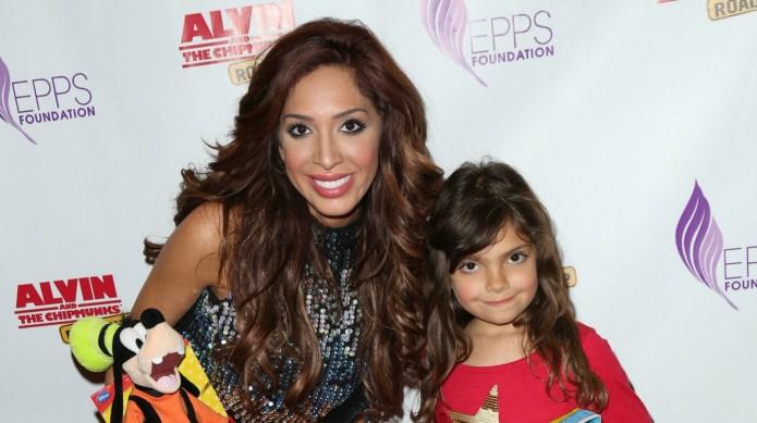 Farrah Abraham and her daughter get