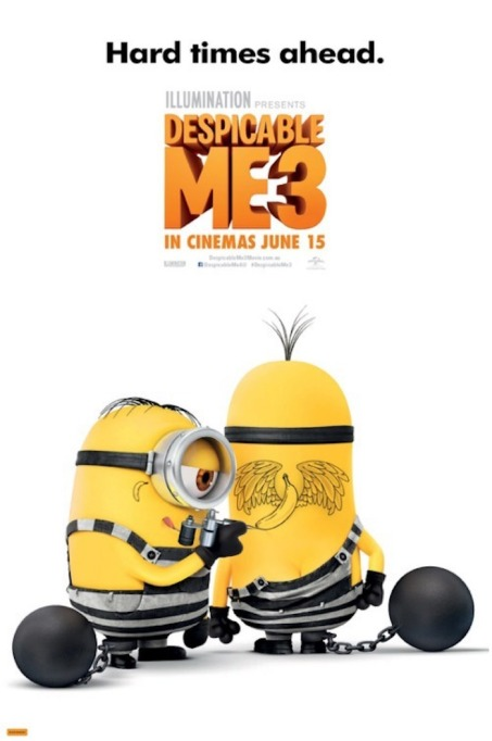 'Despicable Me 3' movie poster