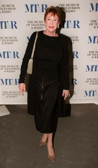 Elmarie Wendel arrives at 'An Evening with John Lithgow' at the Museum of Television and Radio