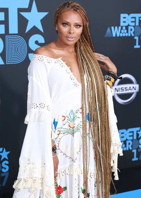 Best Celebrity Braids: Eva Marcille | Celeb Hair Inspo 2017
