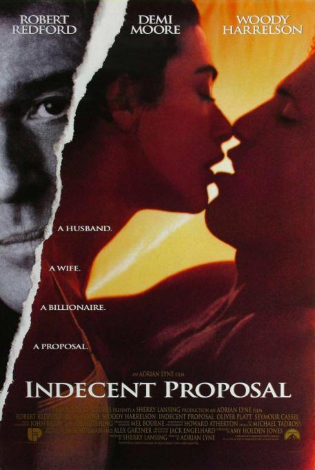 Indecent Proposal movie