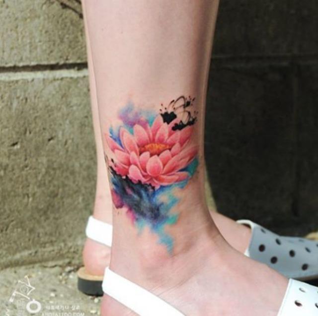 15 Beautiful Tattoos That Look Like Watercolour Paintings Sheknows
