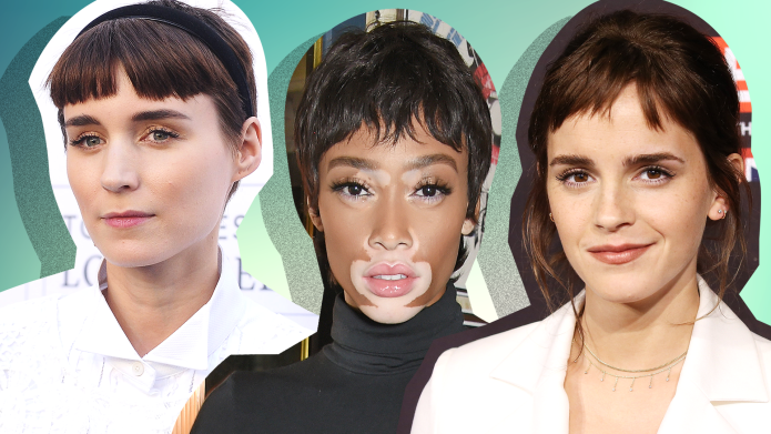 How to Pull Off Baby Bangs