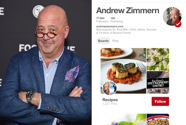 Celebs on Pinterest: Andrew Zimmern
