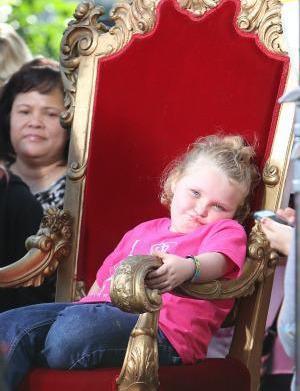 Honey Boo Boo's sass turns sour,