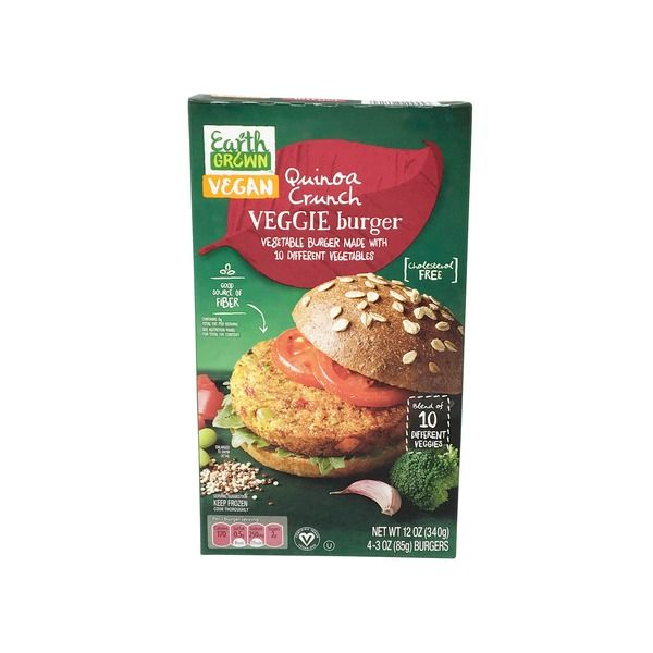 Quinoa crunch burgers are perfect for vegetarians